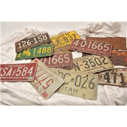 19EZ-626 LICENSE PLATE LOT