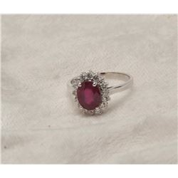 19RPS-34 RUBY RING