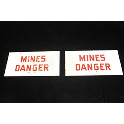 19EZ-39,627 MINEFIELD SIGNS