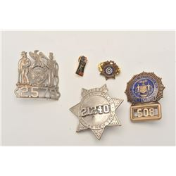 18DC-40 3 BADGES  PIN