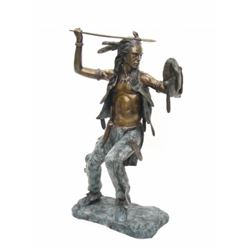 19GFE-88 LARGE BRONZE INDIAN