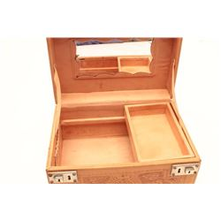 17HC-33 MEXICAN LEATHER TRAIN CASE