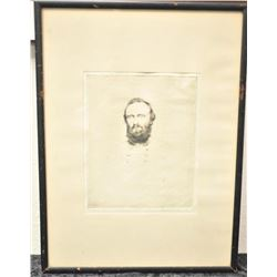 19SAV-249  ETCHING OF STONEWALL JACKSON