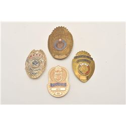 18DC-135 MEXICAN BADGE LOT