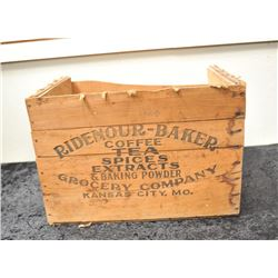 19GB-17 WOOD GROCERY BOX