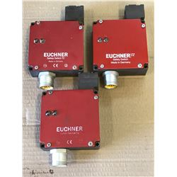 (3) EUCHNER TZ1RE024BHAVFG-RC1971 SAFETY SWITCHES