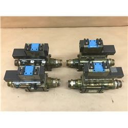 (4) COAX / FESTO MISC. VALVE ASSEMBLY *SEE PICS FOR PART #*