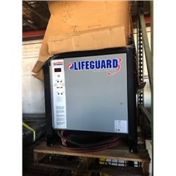 LIFEGUARD LG06-600F3B FORKLIFT ELECTRIC BATTERY CHARGER