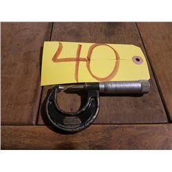 """Starrett No.210-A Thread Micrometer 0-1"""""""