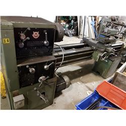 """Voest Lathe 18""""-60"""" with morse taper 4"""
