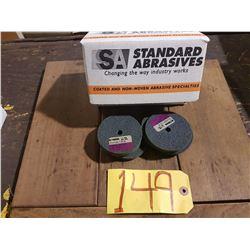 "Box of Standard Abrasives Unitized 500 series wheels 3""x1/4""x3/8"" Soft Mauve"