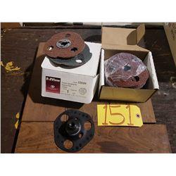 "FlexLoc Sanding Kit with FlexLoc Abrasive 5"""