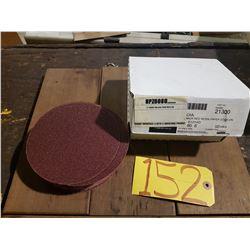 "Big Red Z/A Resin Paper Grip-On Disc 6"" Gr.80"
