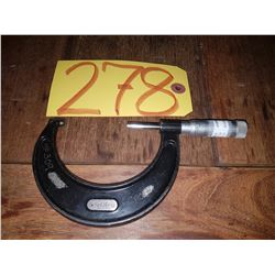"Starrett No.436 Micrometer 2-3"""