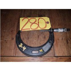 "Starrett No.436 Micrometer 3-4"""