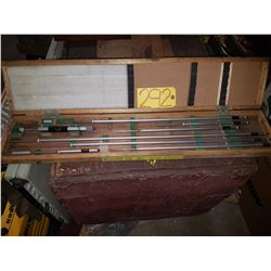 "Mitutoyo 141-122 Inside Micrometer 8"" to 40"""