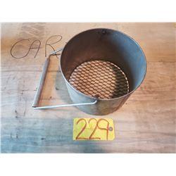 Grill barrel