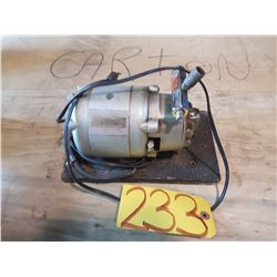 Electric Motor system