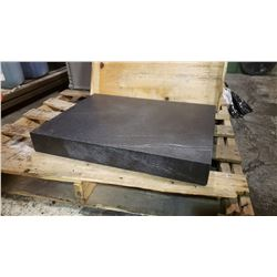"Black Granite Surface Plate 18""x24""x3"""