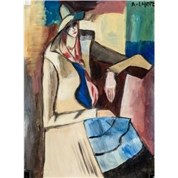 Andre Lhote French Cubist Gouache on Paper