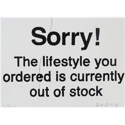 Banksy British Pop Signed Litho 2/200