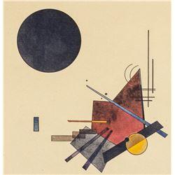 Wassily Kandinsky Russian Signed Litho 15/80