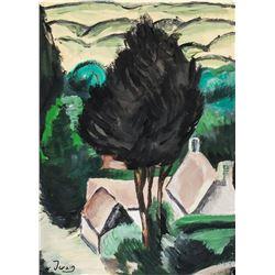 Andre Derain French Fauvist Gouache on Paper