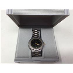 Azur Quartz Men's Metal Band Wrist Watch