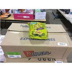Case of Takis Barcel Angry Burger Chips (18 x 90g)