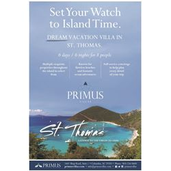 Primus Villas - Belize, St Thomas, Costa Rica or Cabo San Lucas