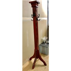 SOLID WOOD COAT RACK
