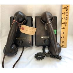 SET OF 2 1950'S INTERCOM PHONES