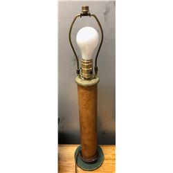 SET OF 2 RE-PURPOSED SPOOL LAMPS