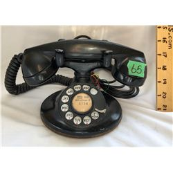 ANTIQUE WESTERN ELECTRIC MODEL 202, D-1 BASE PHONE - 1937