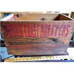 PACIFIC COAST BORAX CRATE - FROM DEATH VALLEY
