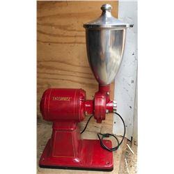 ENTERPRISE VINTAGE CAST ELECTRIC COFFEE GRINDER