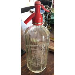 VINTAGE MOORHOUSE EMBOSSED SPRITZER BOTTLE