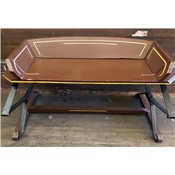ANTIQUE BUGGY SEAT REPURPOSED INTO A BENCH