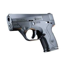 "BERETTA NANO 9MM 3"" 6& 8RD BLK 3 DOT"