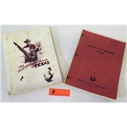 Original Universal City Studios Manuscript: The Best Little Whorehouse in Texas