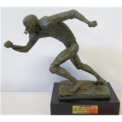 1969 Jim Nabors Football Award Trophy, CBS-NEA All-Pro Team, Approx. 11 H