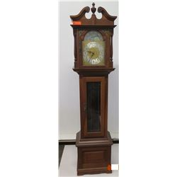 "Tall Emperor Wooden Grandfather Clock, 83"" Tall"