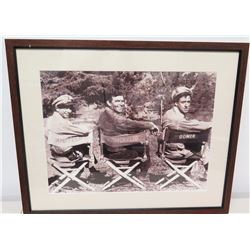 Framed Black & White Photo - Andy Griffith Show