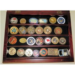 Qty 26 Military, Armed Forces & Misc. Commemorative Medals of Honor