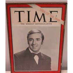 Framed Time Magazine Cover - Jim Nabors, Man of the Year