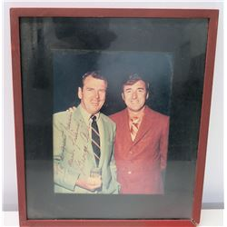 Framed George Allen Autographed Photograph to Jim Nabors