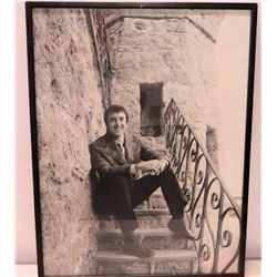 Framed Black & White Photograph - Jim Nabors