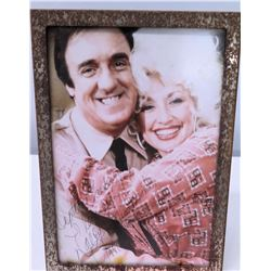 Framed Dolly Parton Autographed Photograph to Jim Nabors, 1981