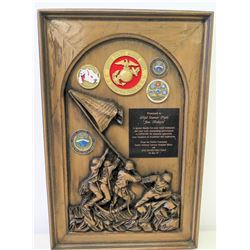 Award & Medals Presented to Jim Nabors from USMC Pacific Command, 2007