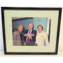 "Guy Hunt Autographed Photot to Jim Nabors - ""Alabama Gave Us…"""